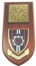 RCT Royal Corps of Transport Regimental Military Wall Plaque & Clock